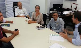 Senador Reguffe se reúne com diretoria do Movimento, membros do Regional de Ensino e da comunidade de São Sebastião
