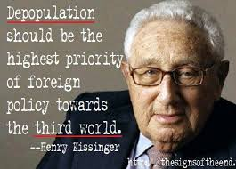 kissinger depopulate useless eaters