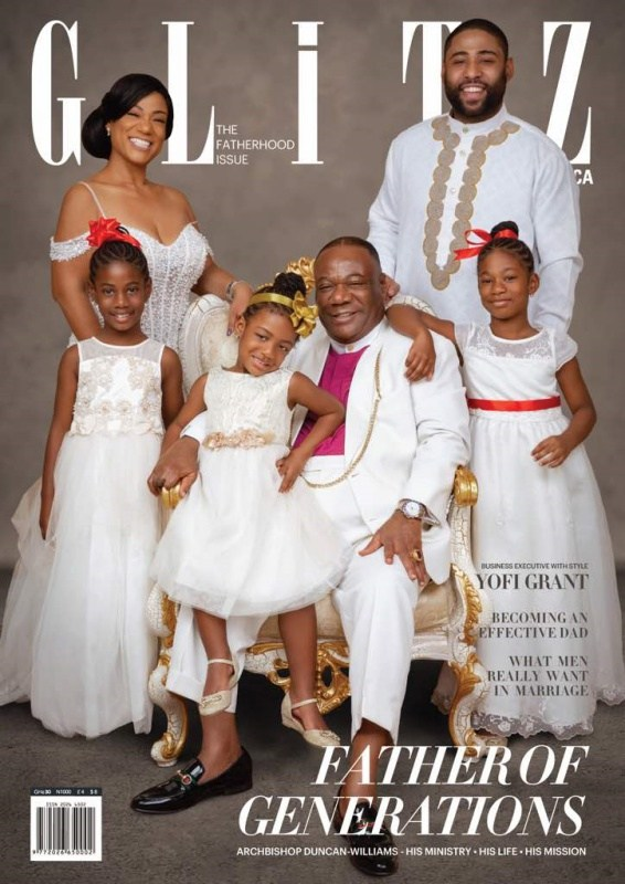Archbishop Nicholas Duncan-Williams' journey as a father & shepherd of God's flock in new Glitz Africa Magazine