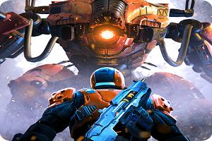 تحميل لعبة Shadowgun Legends مهكرة للاندرويد اخر اصدار