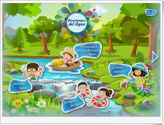 """Día Mundial del Agua (22 de marzo): """"Pasatiempos del agua"""""""