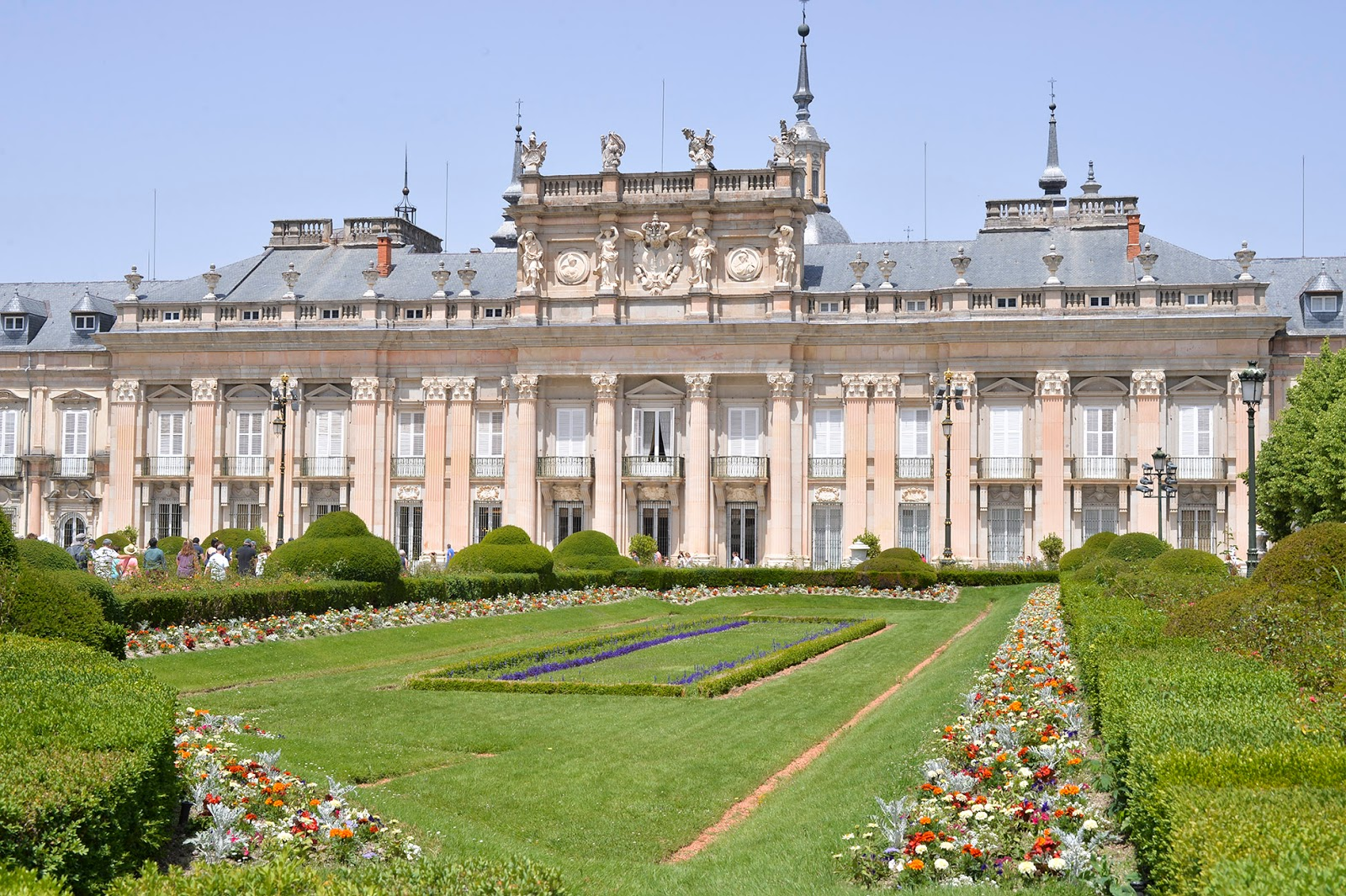 fountains royal palace palacio real la granja san ildefonso fuentes segovia madrid spain jardines gardens