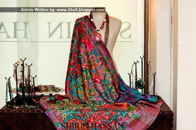 Shirin Hassain Royal Traditional Shawls