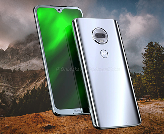 Moto G7 With Waterdrop Notch Renders Leaked