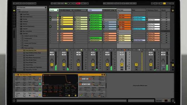 Ableton Live ,Software Pembuat Musik Digital