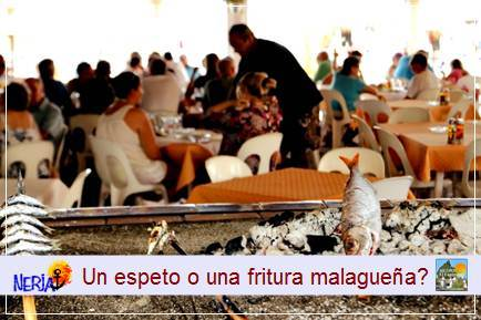 Los resturantes y merenderos de la playa de Burriana ofertan una amplia carta de platos internacionales y nacionales para todos los gustos, carnes, pescado, marisco, ensaladas y paellas gigantes hechas a fuego de leña