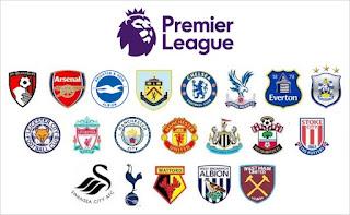 Jadwal Liga Inggris Sabtu-Minggu 28-29 Oktober 2017 Pekan Ke-10