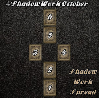 Shadow work tarot spread