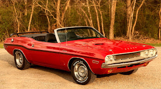 1970 Dodge Challenger RT Convertible Car