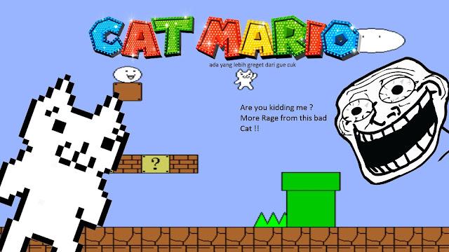 Mau yang lebih greget dari Cat mario ? Coba mainin game satu ini