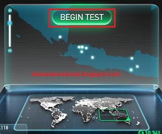 cara tes kecepatan internet pc