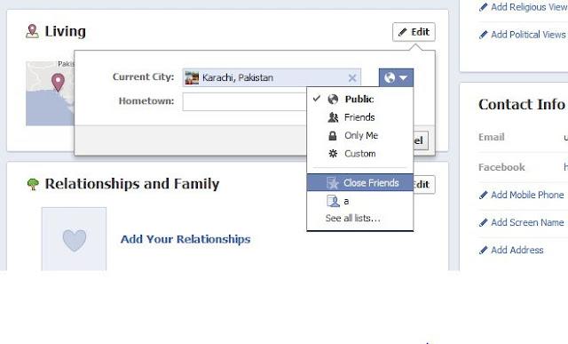 Facebook Privacy Graph Search