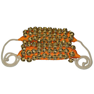 DronaCraft Dancing Bells Ghungroo Pair Handmade Indian Classical Dance Accessories
