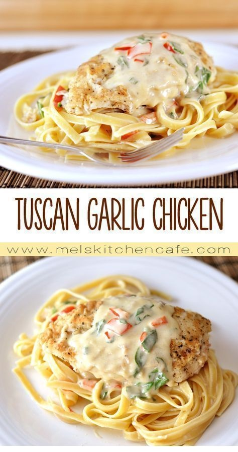 Tuscan Garlic Chicken