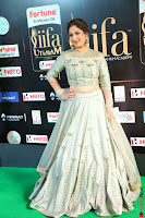 Gouri Munjal in a Tight Pista Coloured Ghagra Choli at IIFA Utsavam Awards 001.JPG