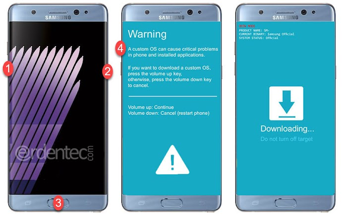 ROOT Samsung Galaxy A7 2017 and Install TWRP