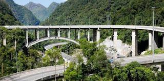 View Jembatan Kelok 9