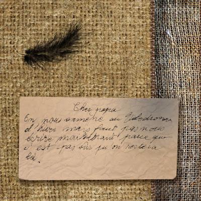 Extrait de texte de Marie Jelen, enfant déporté au moment de la rafle du Vel'Hiv'