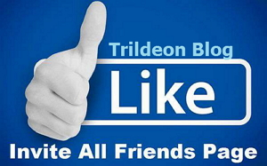 How To Invite All Your Friends To Like Facebook Fan Page In One Click Using Browser Extension