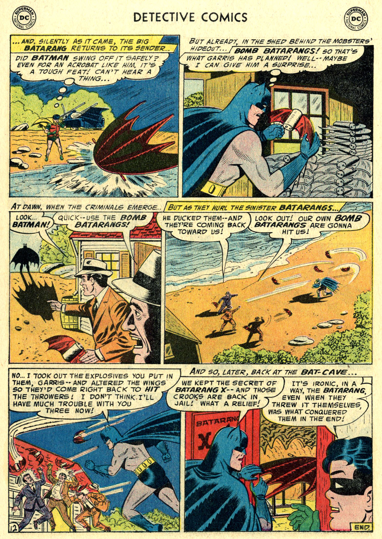 Read online Detective Comics (1937) comic -  Issue #244 - 14