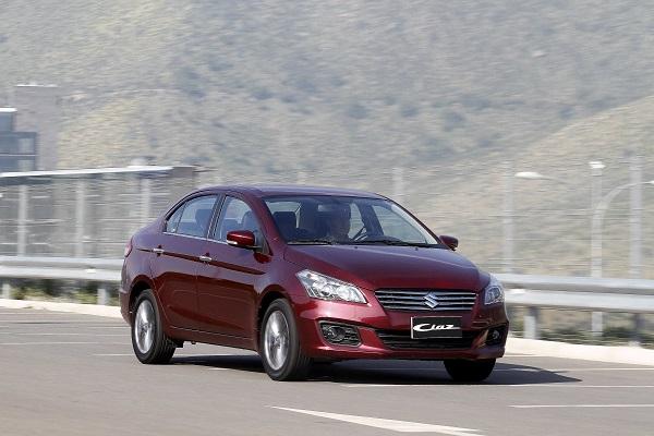 Suzuki ya vende el nuevo Ciaz en Chile