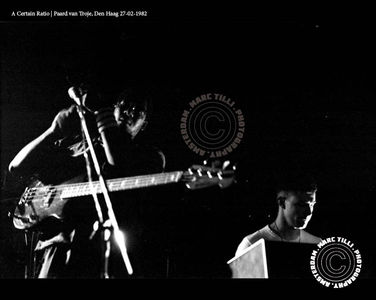 27 Feb 1982, Paard van Troje, Den Haag, Netherlands - ACR Gigography