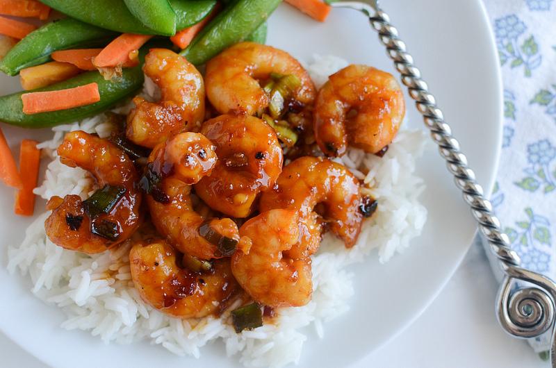 Spicy Orange Shrimp #Recipe - My Favorite Recipes