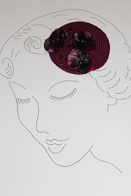 Fascinator handmade by Ars Vera