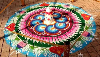 diwali  rangoli photos