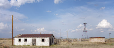 abandoned homestead Milnesand, New Mexico