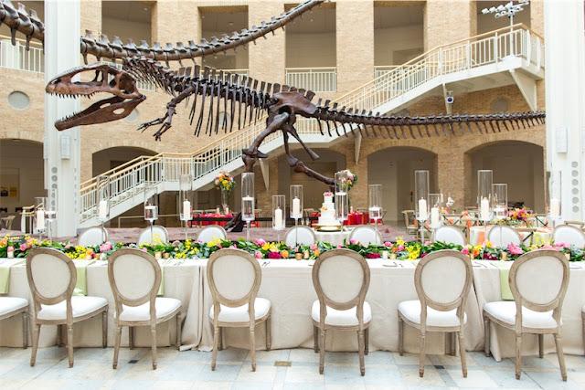 Una boda entre dinosaurios en LOVE, LOVE by Chic & Decó