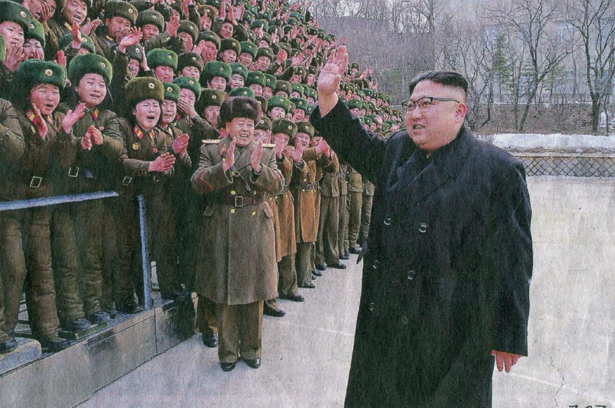 Not at all depressive North Korea