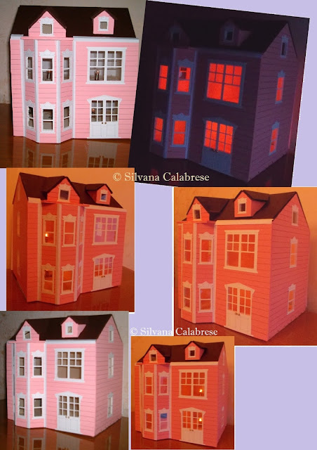 Dollhouse Model in Victorian style