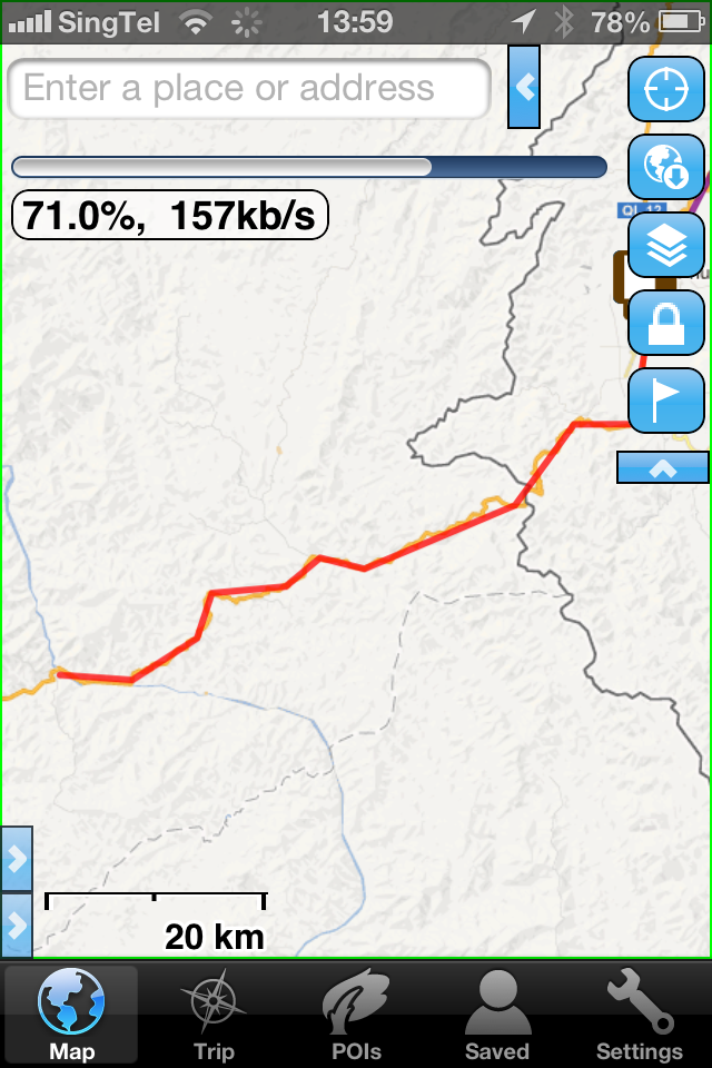 Adventure Nomad: MotionX GPS vs  Gaia GPS
