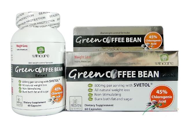 Thuốc Gỉam Cân Green Coffee Bean