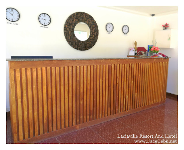 Lobby at Laciaville Resort and Hotel  Pool
