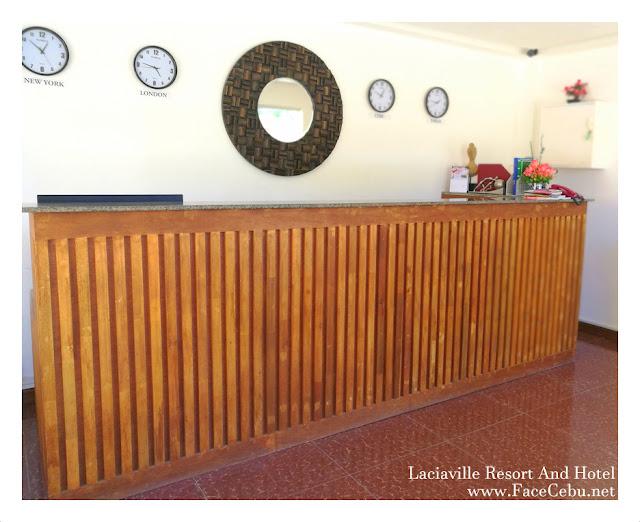 Lobby at Laciaville Resort and Hotel  Pool