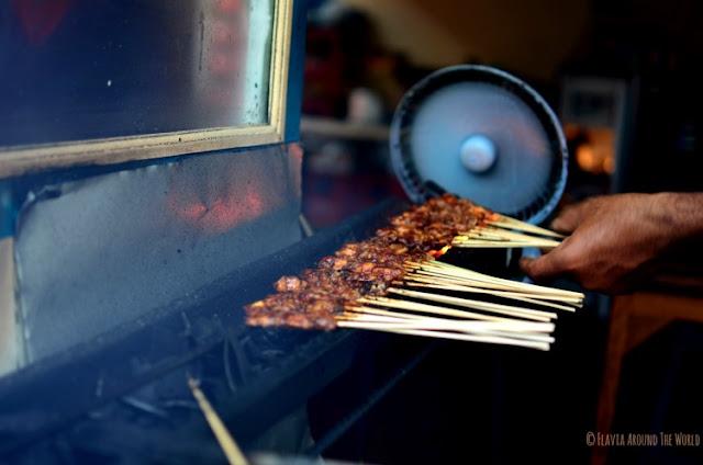 Street food Bali Ubud