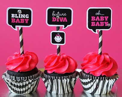 Diva Baby Free Printable Mini Kit.