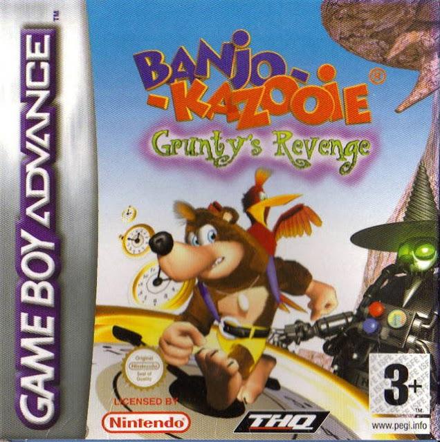 Banjo-Kazooie: La Venganza de Grunty - Español - Portada