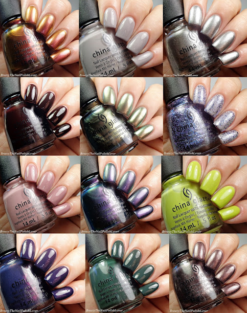China Glaze The Great Outdoors! Swatches and Review!