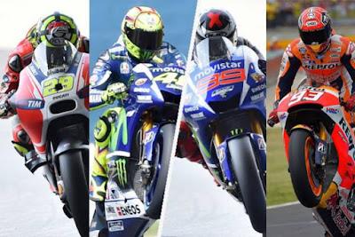 Jadwal Lengkap Race MotoGP 2016