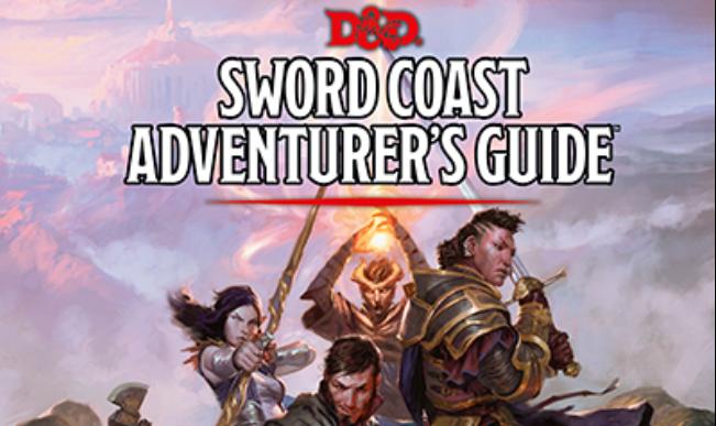 Halfling's Luck: D&D 5e: Sword Coast Adventurer's Guide Review