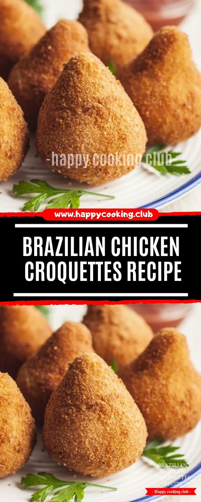 Brazilian Chicken Croquettes Recipe