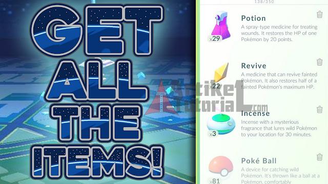 Fungsi dan Kegunaan Semua Item Pada Game Pokemon Go