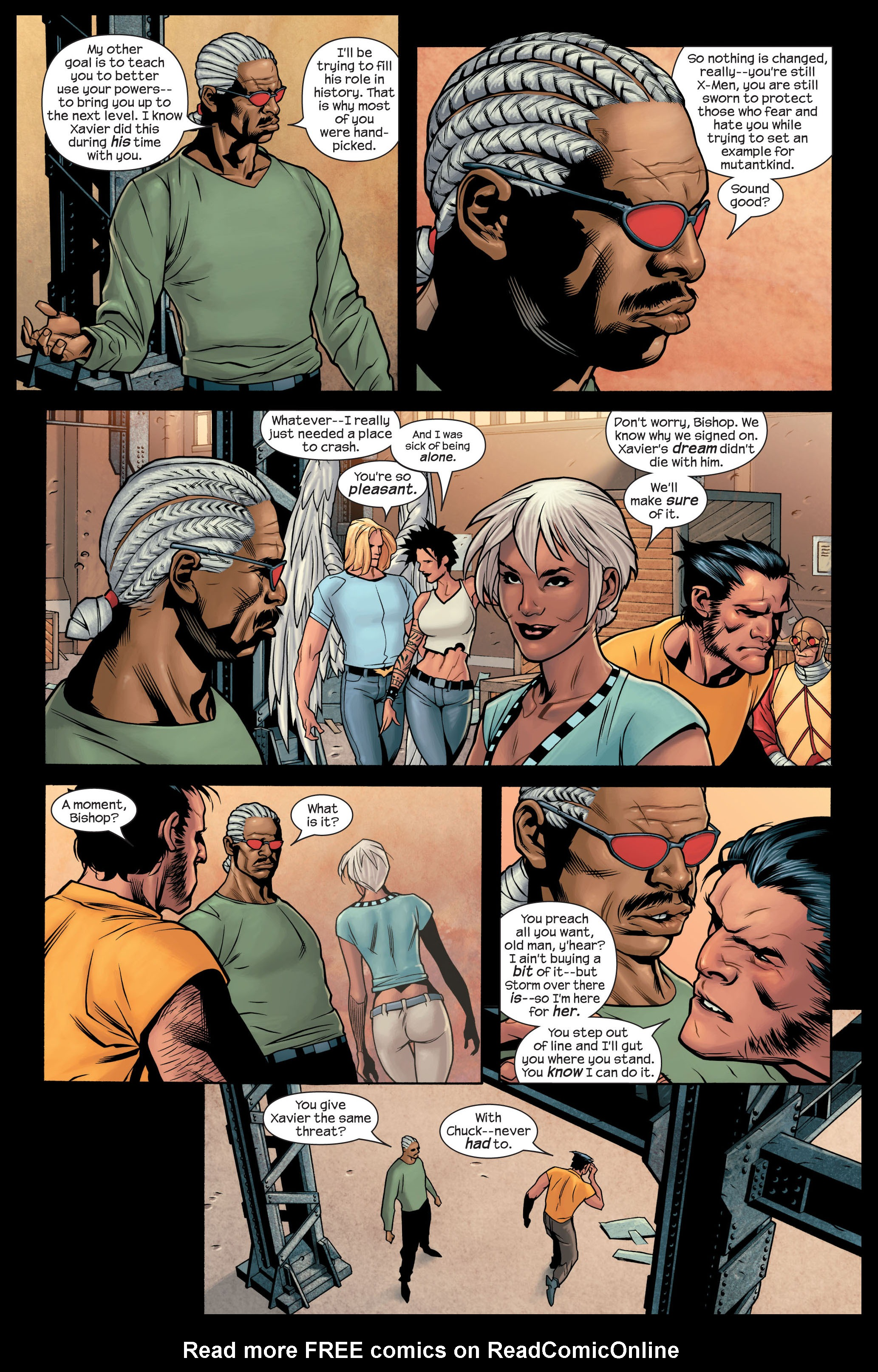 Read online Ultimate X-Men comic -  Issue #84 - 12