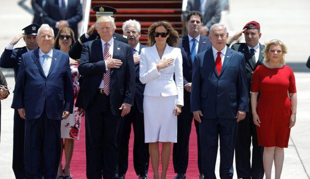 Melania Trump Slaps Off President Trump's Hand Publicly During Israeli visit