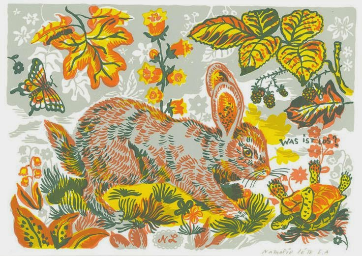 (prints) rabbit & hare