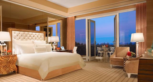 Quarto do hotel cassino Wynn Encore em Las Vegas