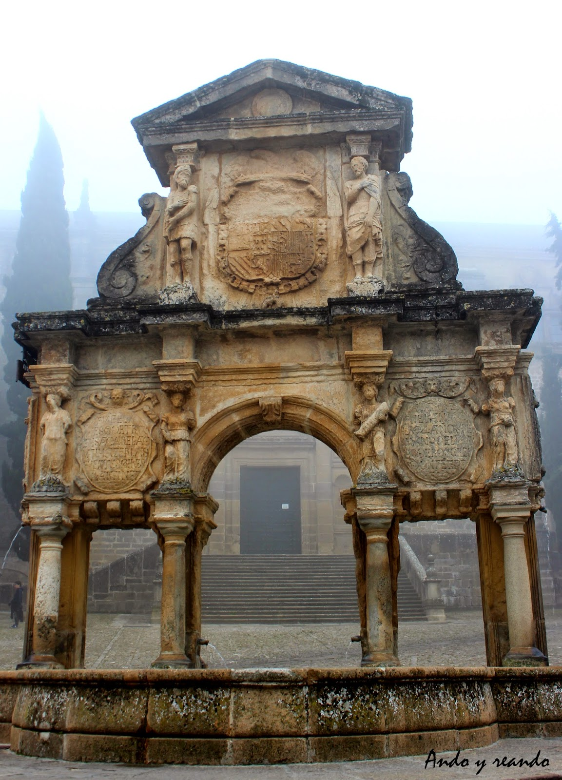Fuente de Santa María en Baeza